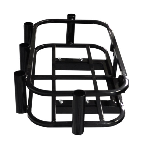 Image of the Hitch Mount Cooler Rod Holder Rack accessory.