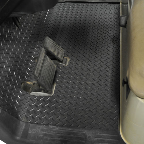 Image of the Replacement OEM Diamond Plated Floormat accessory.