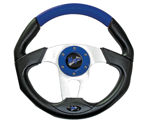 Image of the Transformer Collection Blue Steering Wheel accessory.