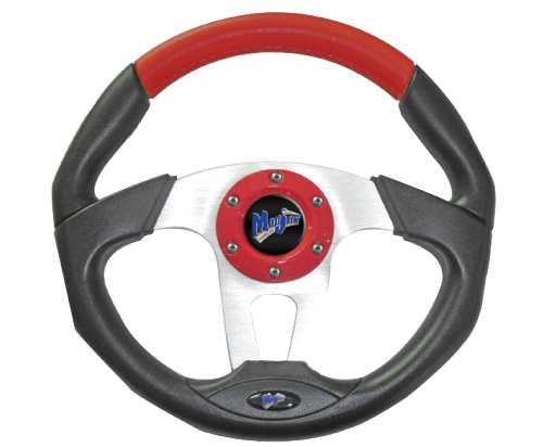 Image of the Transformer Collection Red Steering Wheel accessory.
