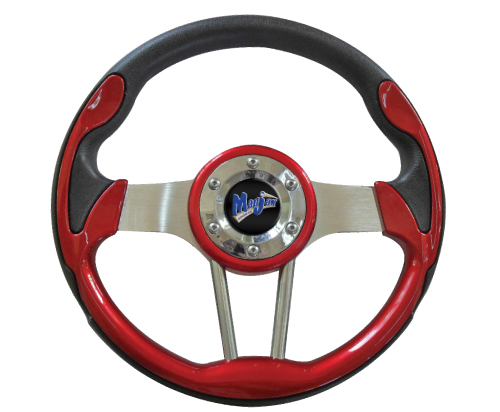 Image of the Volt Collection Red Steering Wheel accessory.