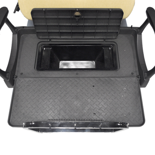 Image of the storage cooler box for rear deluxe seat accessory.
