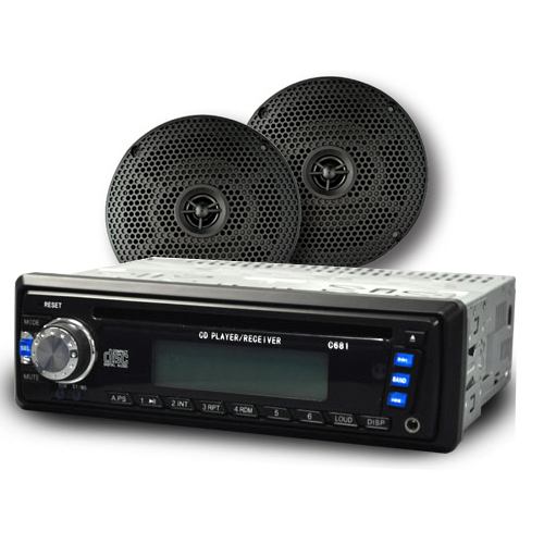 Image of the CD Multimedia Reciever Radio with 6 inch Speakers accessory.