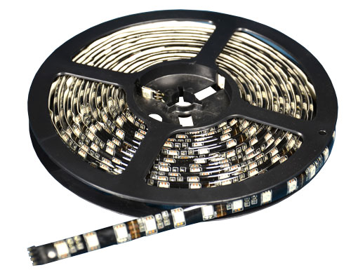 Image of the LED light strip with remote accessory.