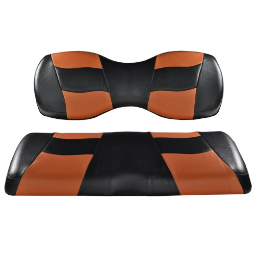 Image of the RIPTIDE Black Moroccan Two Tone Seat Covers accessory.