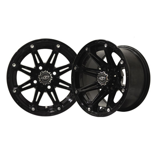 Image of the Element 12 x 6 Black Wheel accessory.