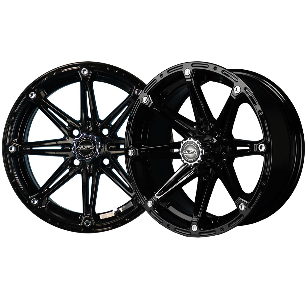 Image of the Element 14 x 6 Black Wheel accessory.