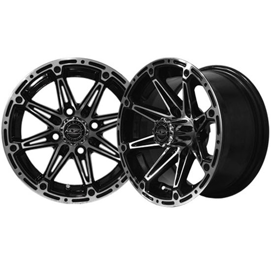 Image of the Element 14 x 7 Machined Black Wheel accessory.