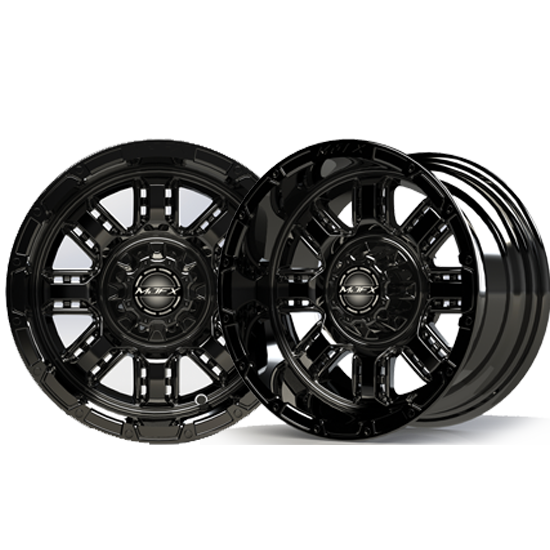 Image of the Transformer 12 x 7 Black Wheel accessory.